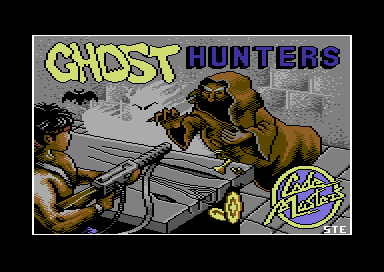 Ghost Hunters Commodore 64 Loading screen.