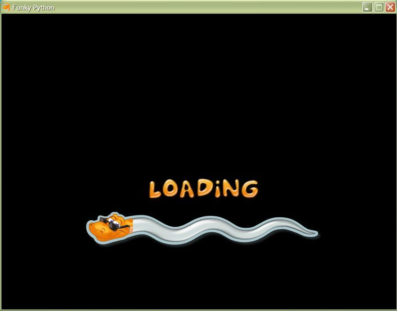 Funky Python Windows Loading (windowed)