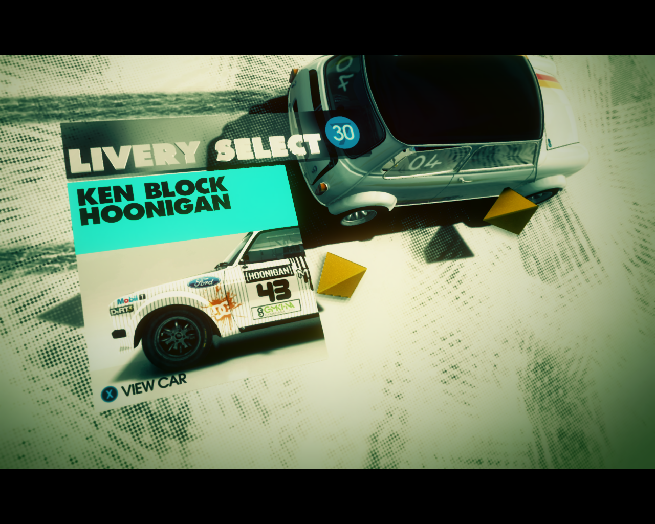 Ken Block Special Pack Windows Ken Block's Ford Escort Mk2 has got only one set of liveries