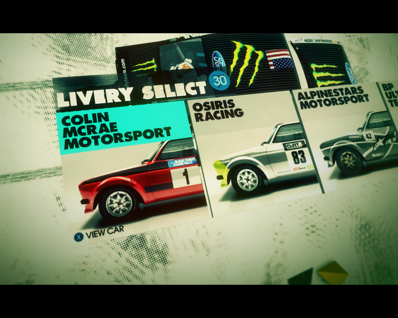 DiRT 3: Colin McRae Vision Charity Pack