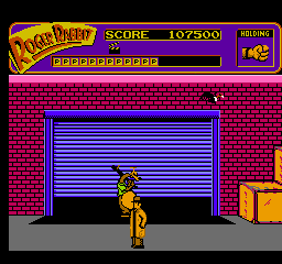 judge dooms warehouse is locked up tight youll need your other objectives complete and a special item to get in here - Who Framed Roger Rabbit Nes