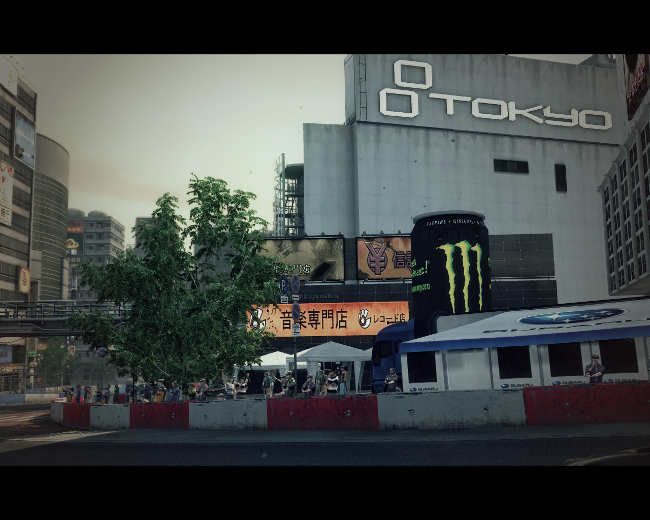 X Games Asia Track Pack Windows Shibuya views