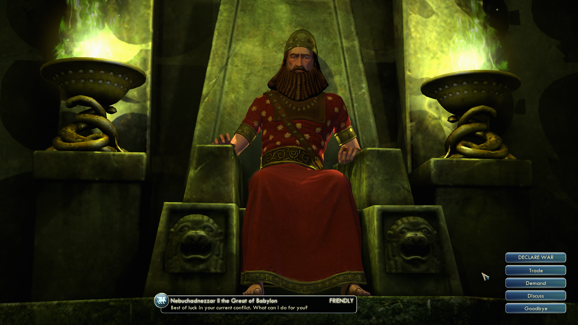 Sid Meier's Civilization V: Babylon (Nebuchadnezzar II) Windows Nebuchadnezzar II, King of the Neo-Babylonian Empire