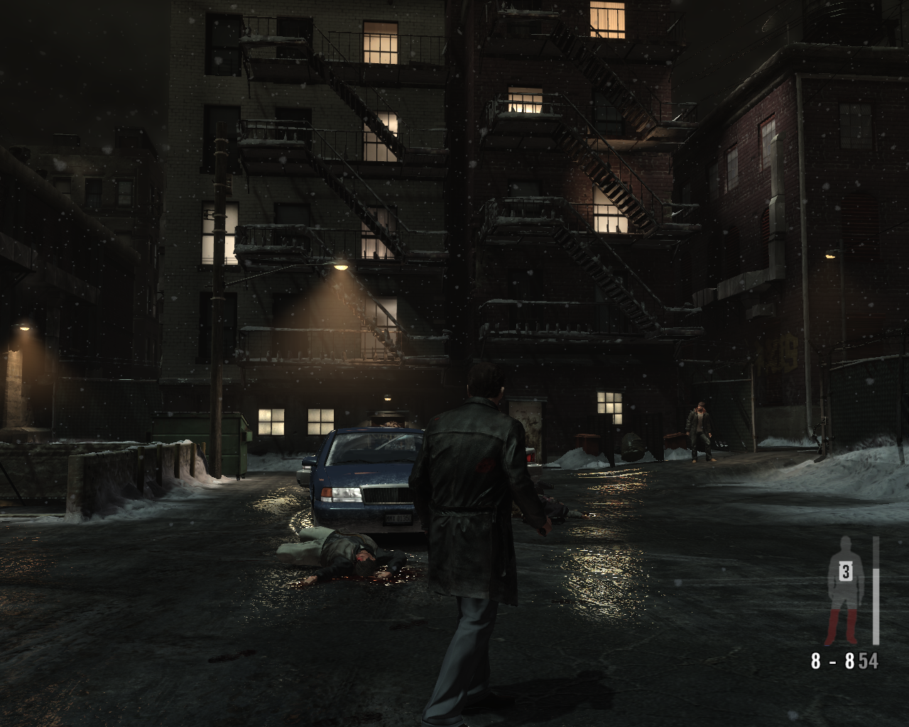 "Max Payne 3 Windows Now this setting is more familiar for the fans  of <moby game=""Max Payne"">Max Payne 1</moby>!"