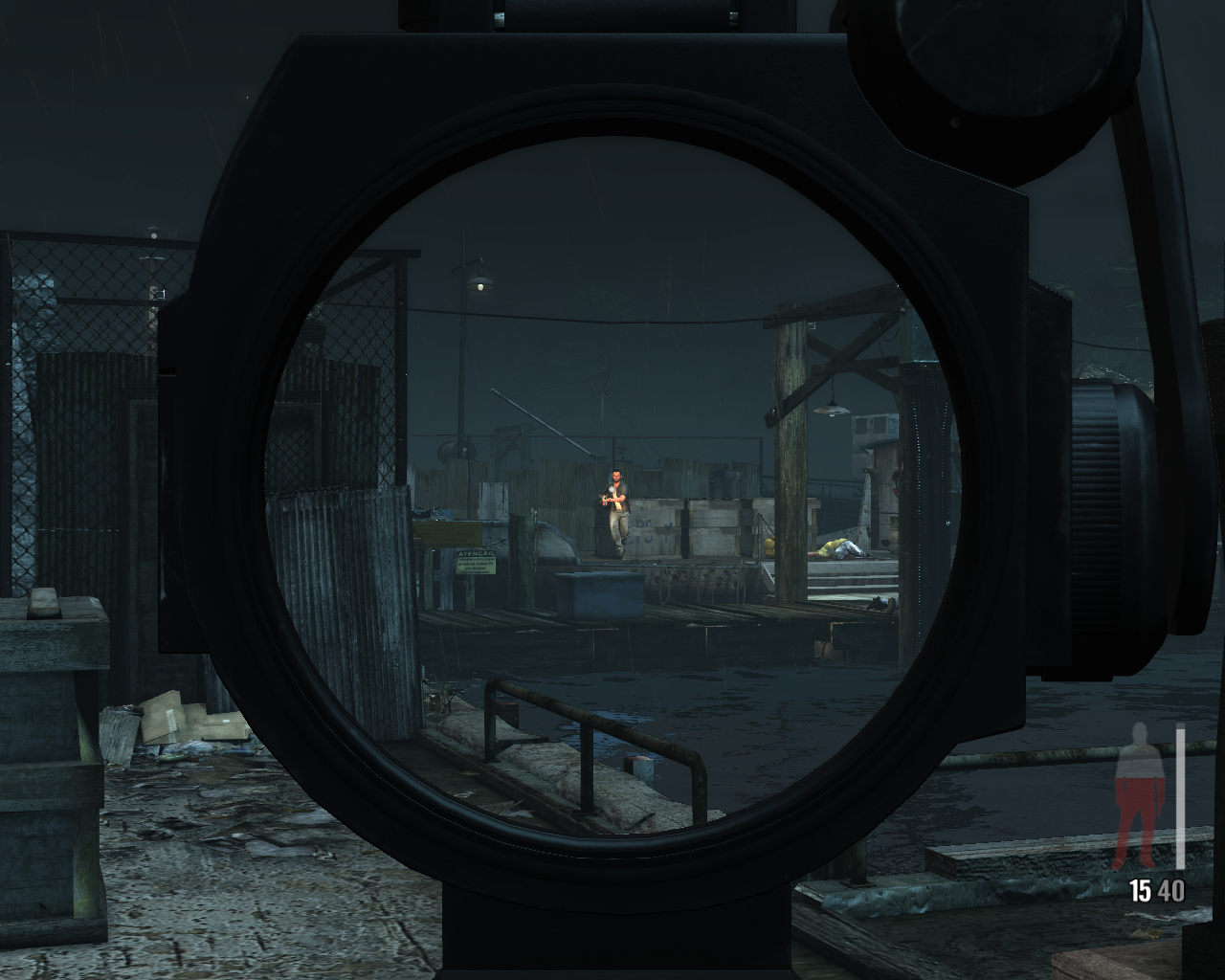 Max Payne 3 Windows Sniper scope