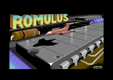 Romulus Commodore 64 Loading screen.