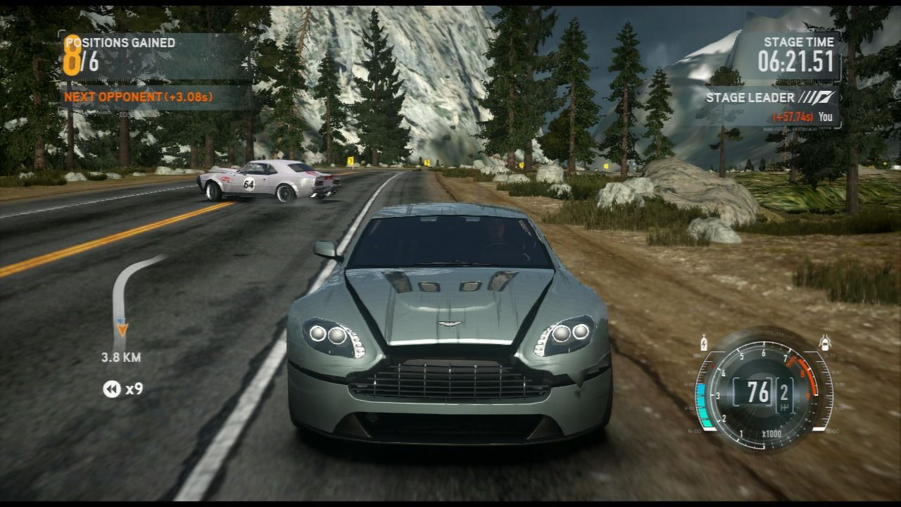 Need for Speed: The Run PlayStation 3 You don't have to play nice in order to advance.