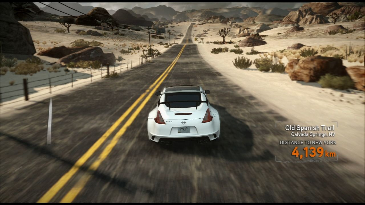 Need for Speed: The Run PlayStation 3 There's still a long way to New York.