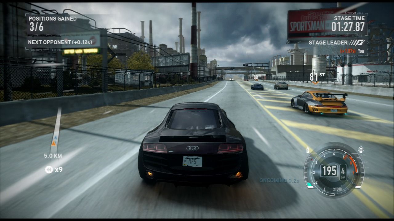 Need for Speed: The Run PlayStation 3 As the race goes, you'll get access to faster cars.