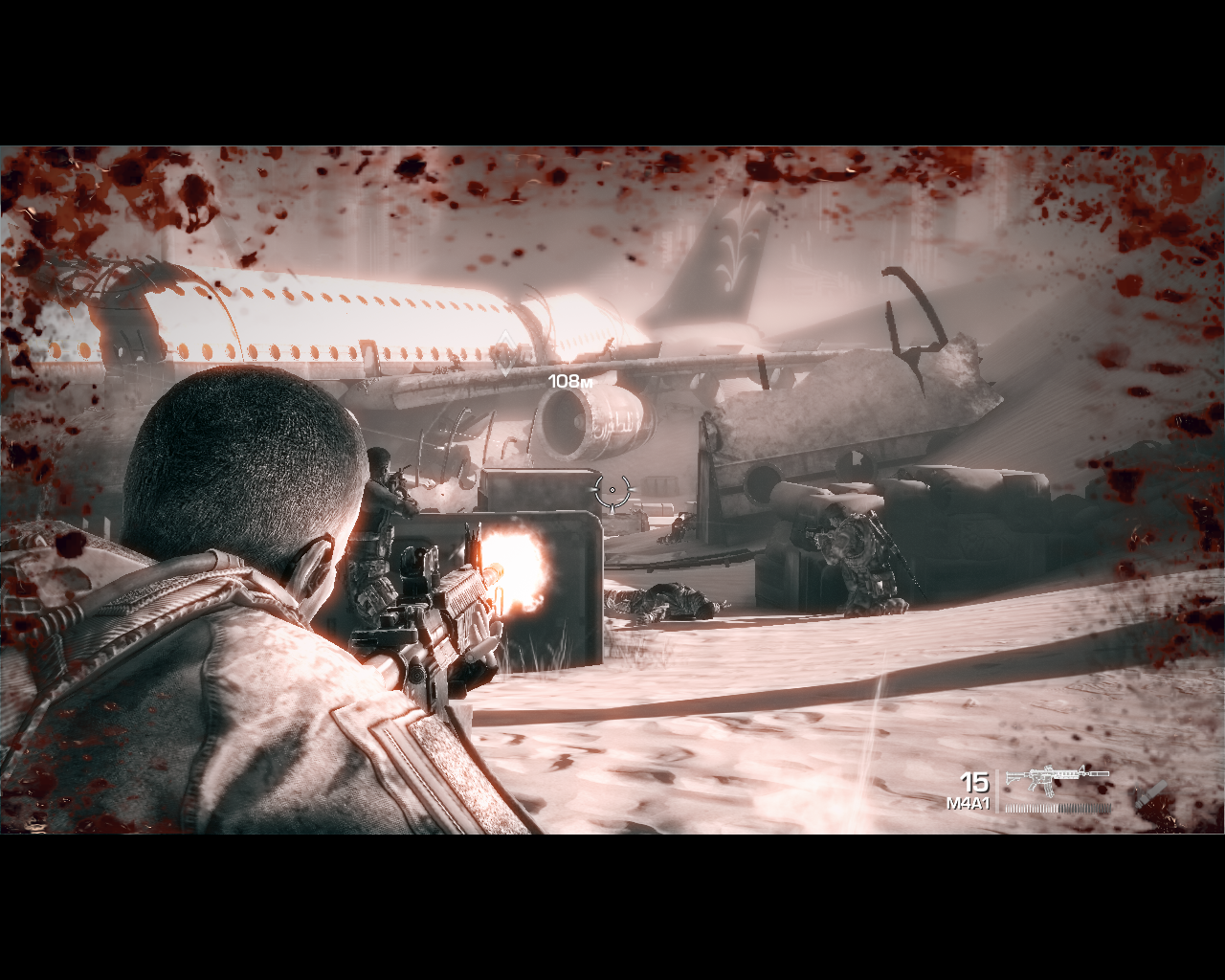 Spec Ops: The Line Windows Near-death condition