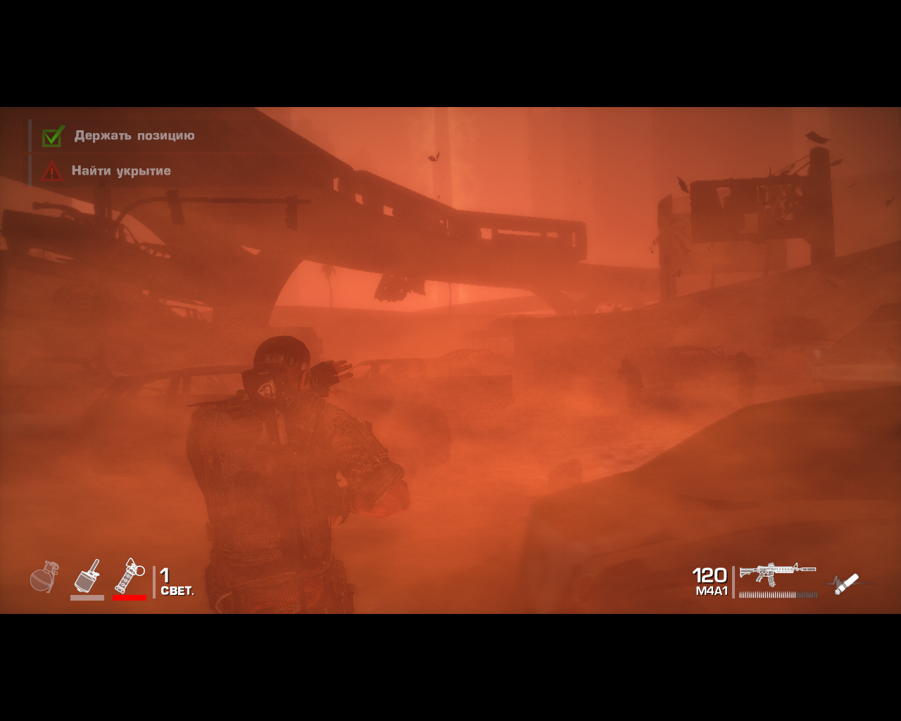 Spec Ops: The Line Windows Caught in a sandstorm