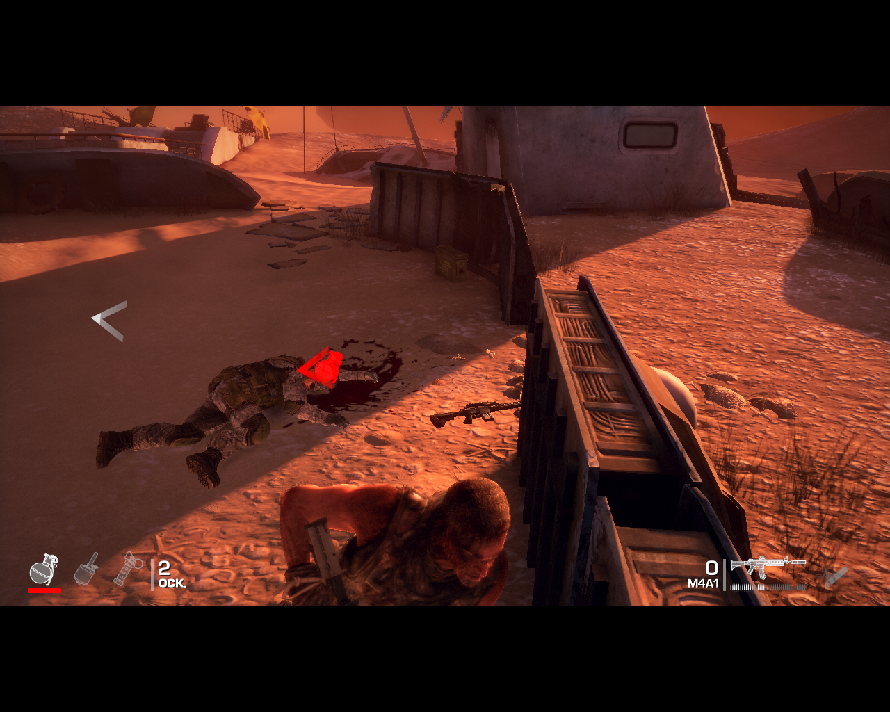 Spec Ops: The Line Windows Grenade! Gotta move outta here.