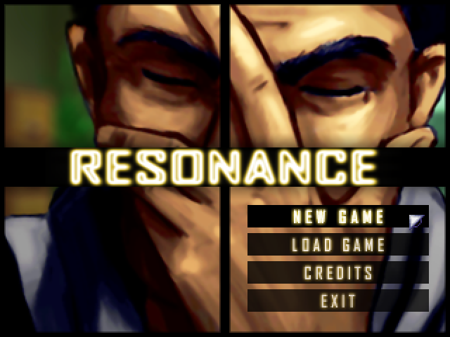 Resonance Windows Main menu