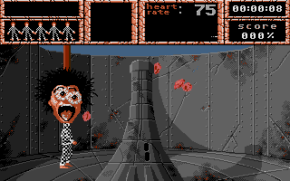 Weird Dreams DOS First Level : Candyfloss death (EGA)