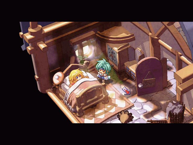 Zwei!! Windows How many Japanese RPGs begins with the main character in bed?..