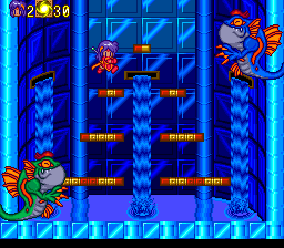 Pop 'n Magic TurboGrafx CD Battle against two boss enemies at once!