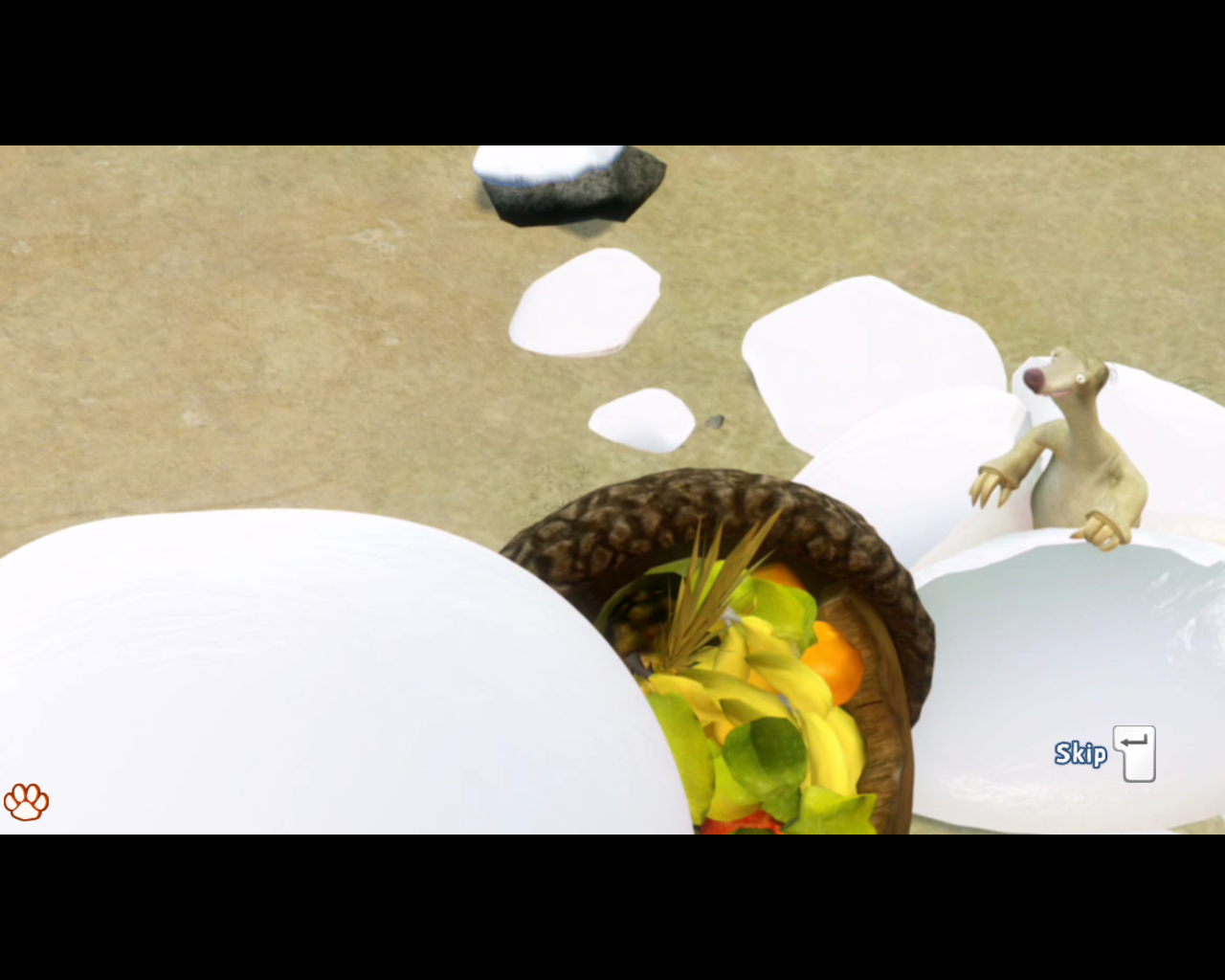 Ice Age: Continental Drift - Arctic Games Windows ...and discovering a treasure