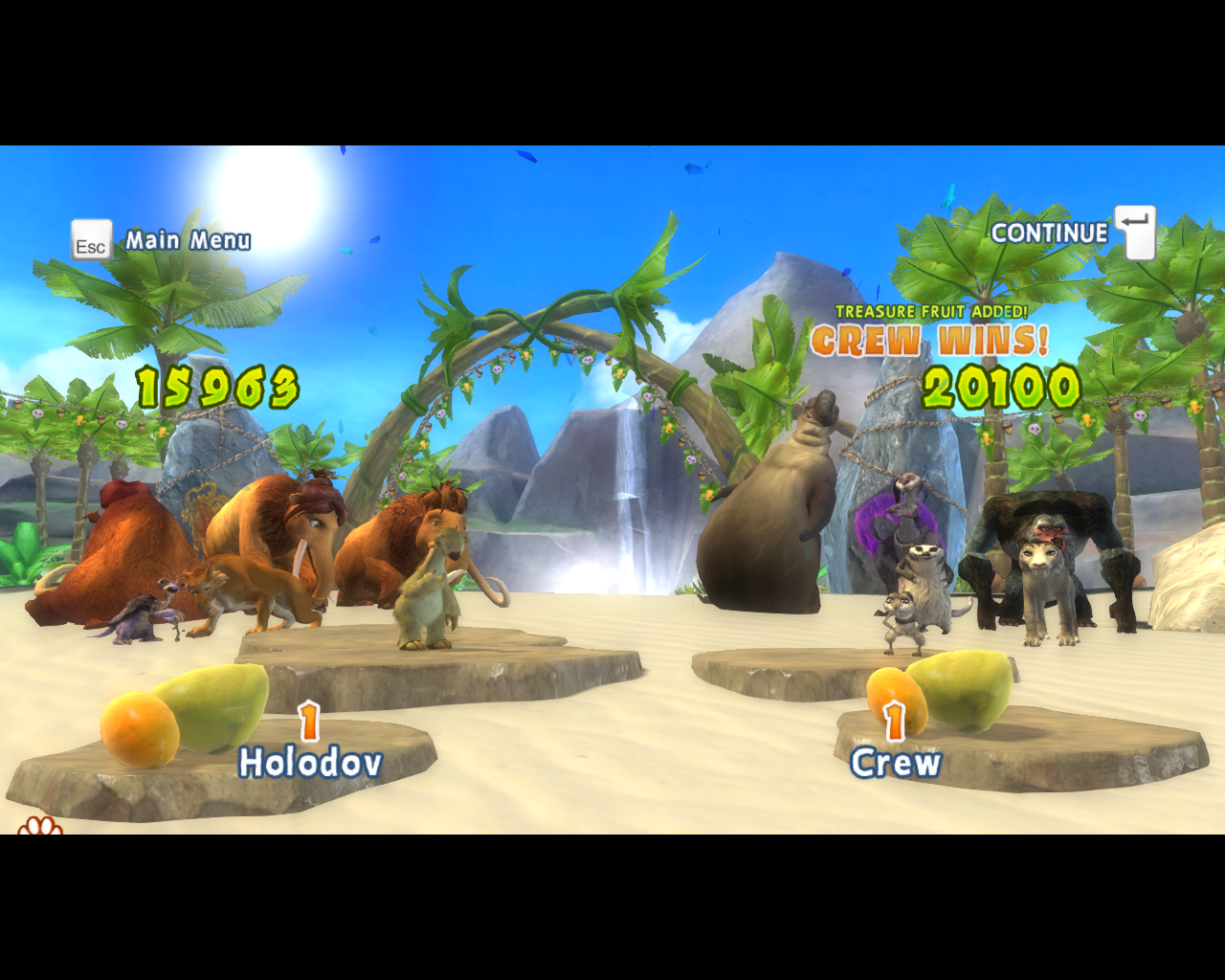 Ice Age: Continental Drift - Arctic Games Windows This time crew wins