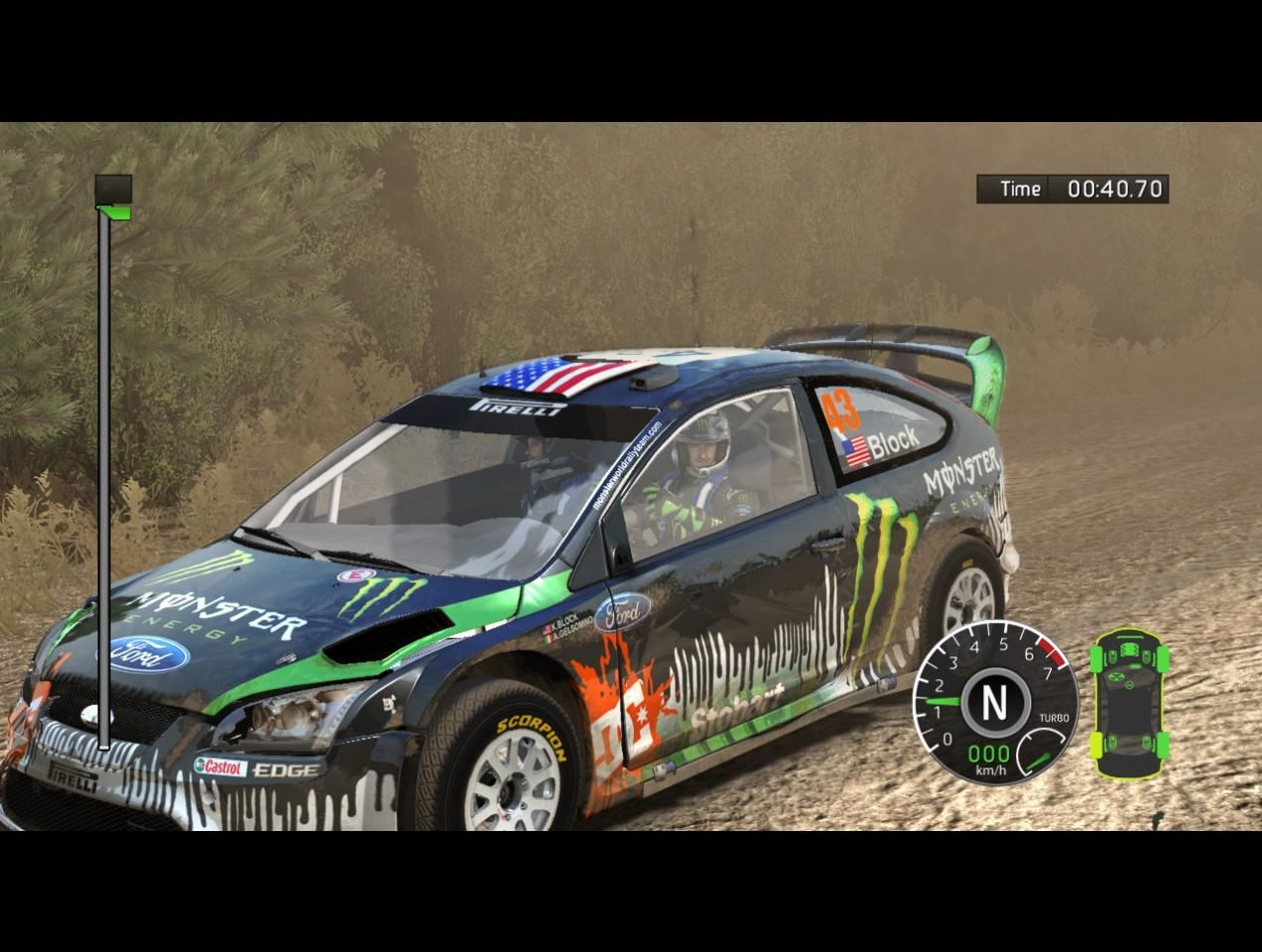 WRC FIA World Rally Championship Windows Ken Block, visited from DiRT series?