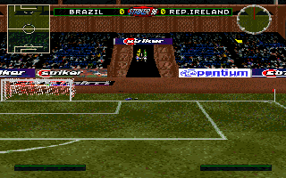 Striker '96 DOS Match Start Up
