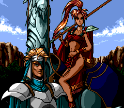 Kisō Louga II: The Ends of Shangrila TurboGrafx CD Tifire comes to rescue, even though she apparently forgot to wear pants