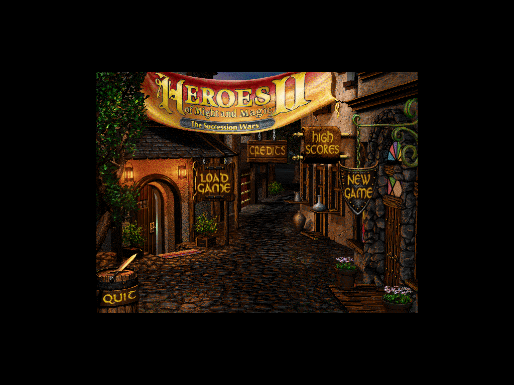 iHeroes iPad Main Menu
