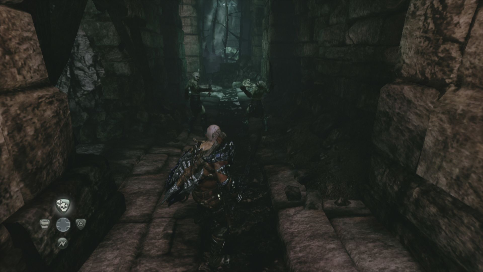 Hunted: The Demon's Forge Xbox 360 Surprising two enemies