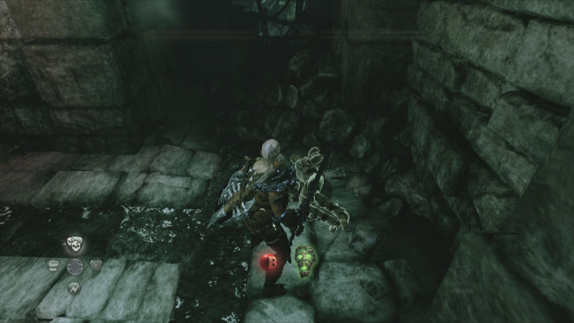 Hunted: The Demon's Forge Xbox 360 One type of collectibles: Dead bodies