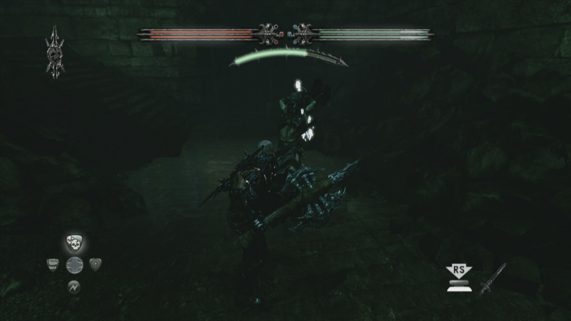 Hunted: The Demon's Forge Xbox 360 My axe is way bigger