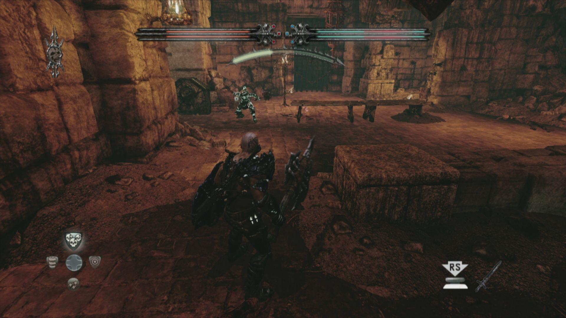 Hunted: The Demon's Forge Xbox 360 Come to daddy!