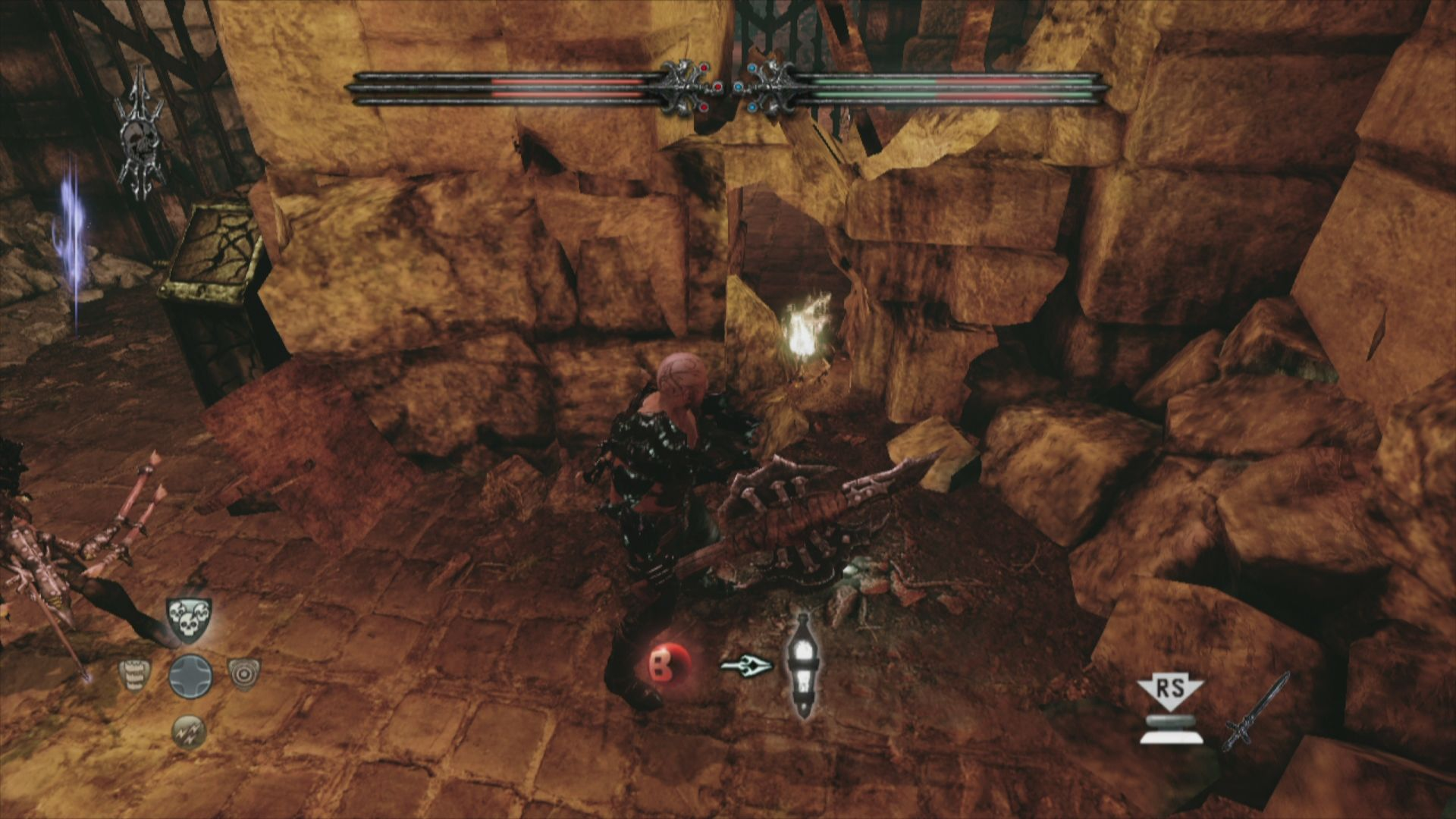 Hunted: The Demon's Forge Xbox 360 Resurrection vial