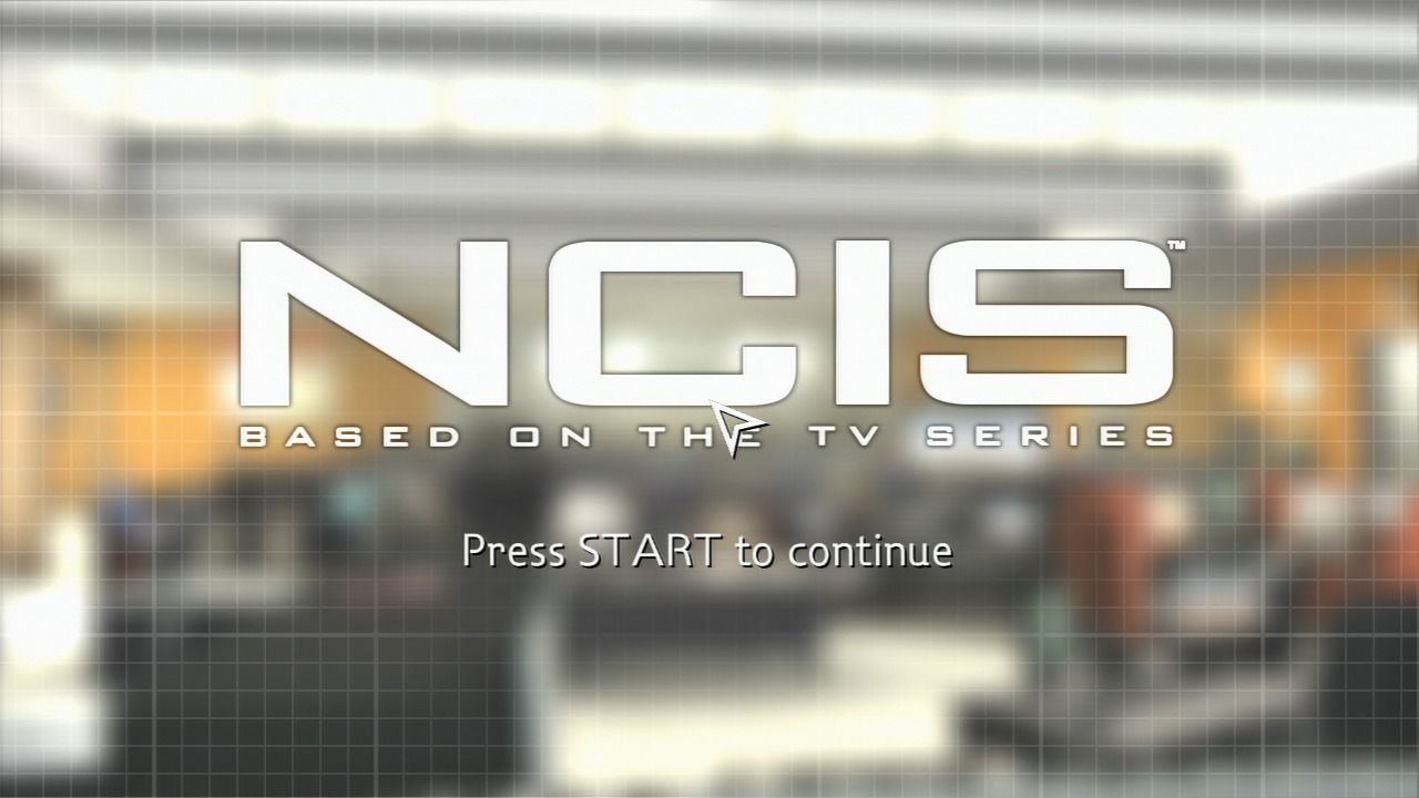 NCIS PlayStation 3 Main title.