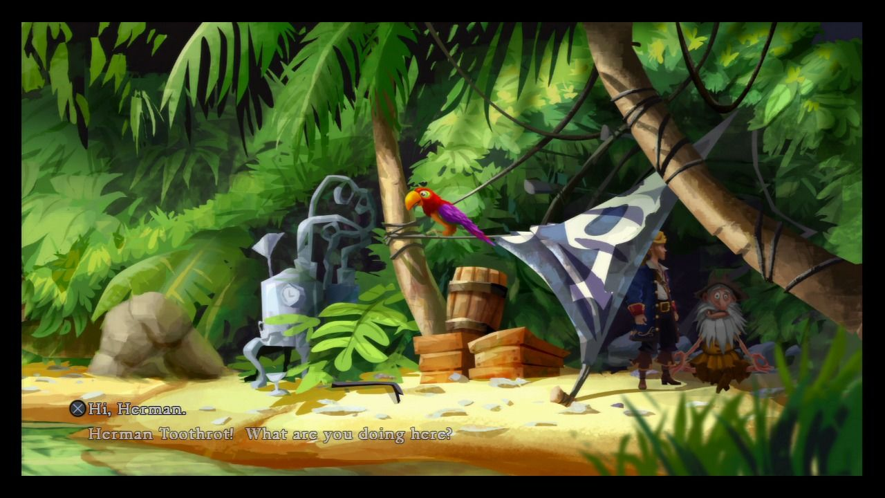Monkey Island Review Ps