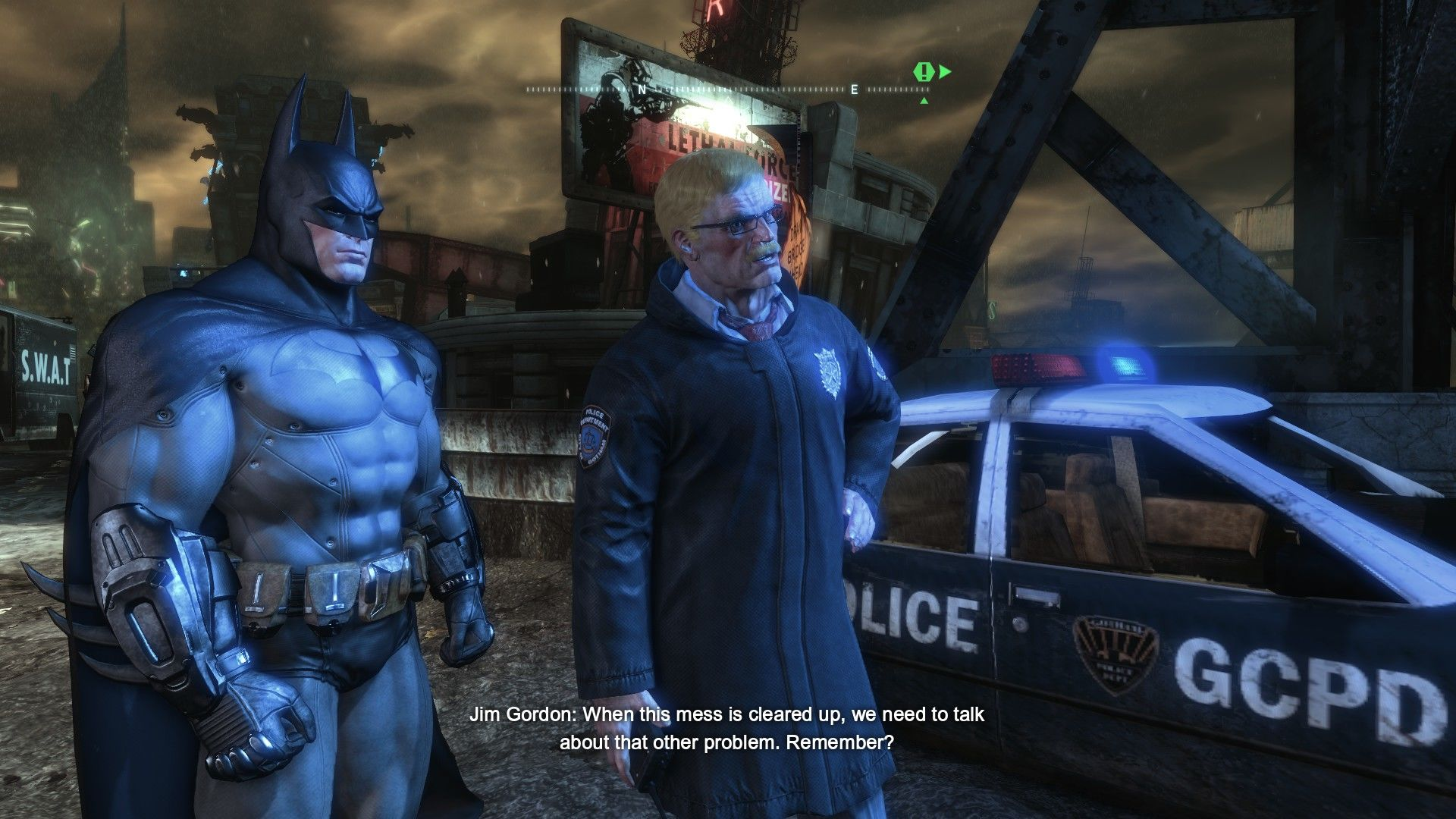 Batman: Arkham City - Harley Quinn's Revenge Windows Some GCPD officers were captured by Harley Quinn. Guess who'll have to save them?