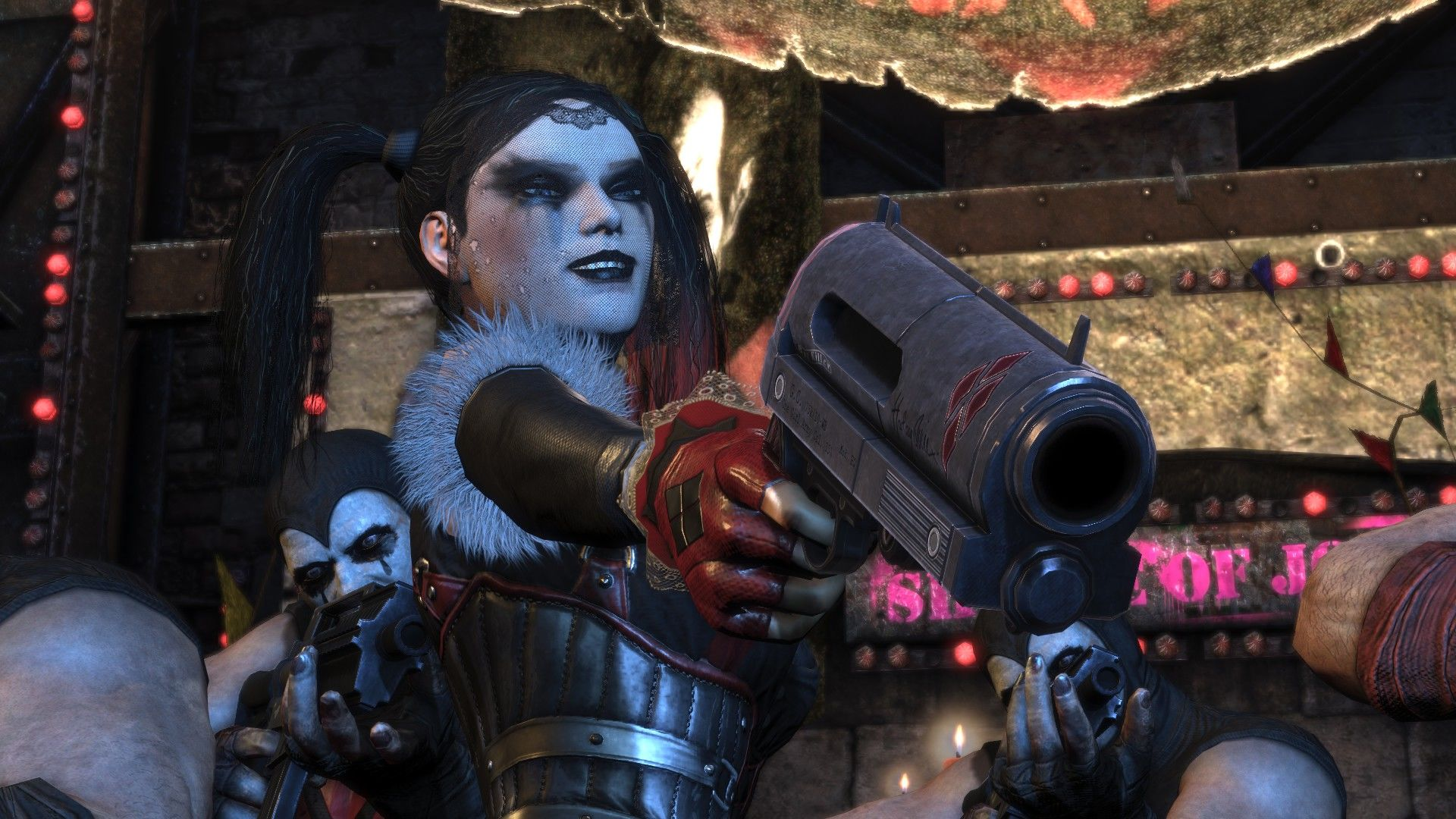 Batman: Arkham City - Harley Quinn's Revenge Windows Cut scenes are amazingly cinematic.