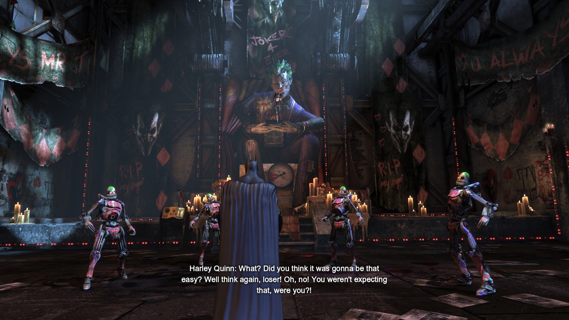 Batman: Arkham City - Harley Quinn's Revenge Windows The last confrontation.