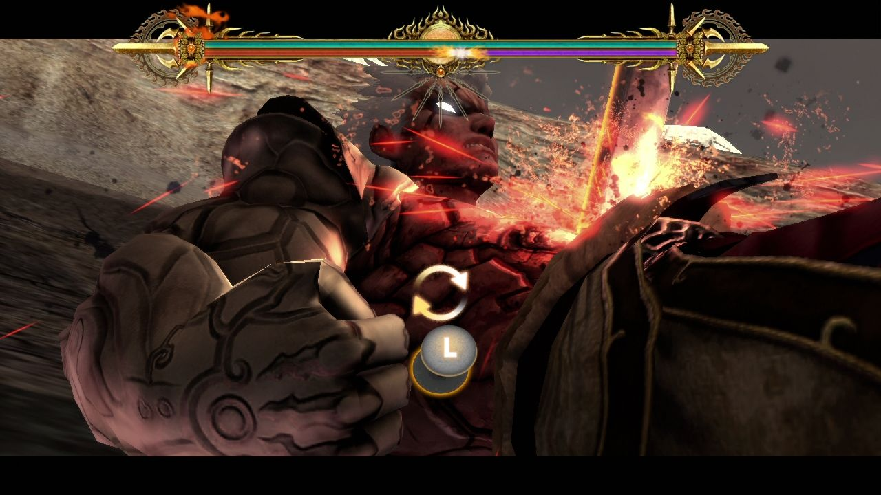 Asura's Wrath PlayStation 3 One of the basic quick time events.