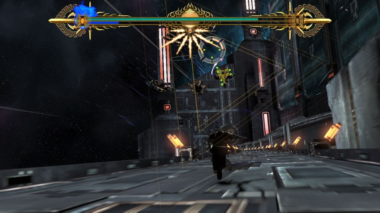 Asura's Wrath PlayStation 3 Shooting stage as a second main character - Yasha.