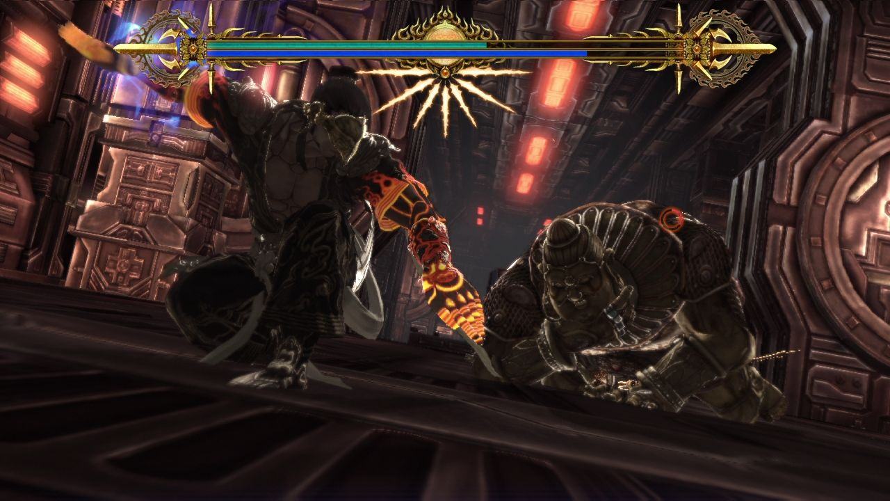Asura's Wrath PlayStation 3 Fatality!