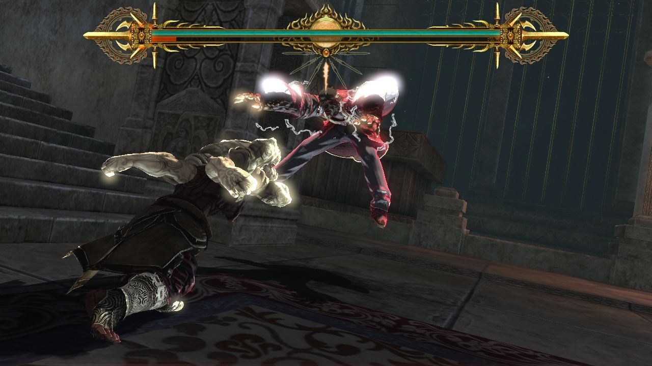 Asura's Wrath PlayStation 3 Another boss fight