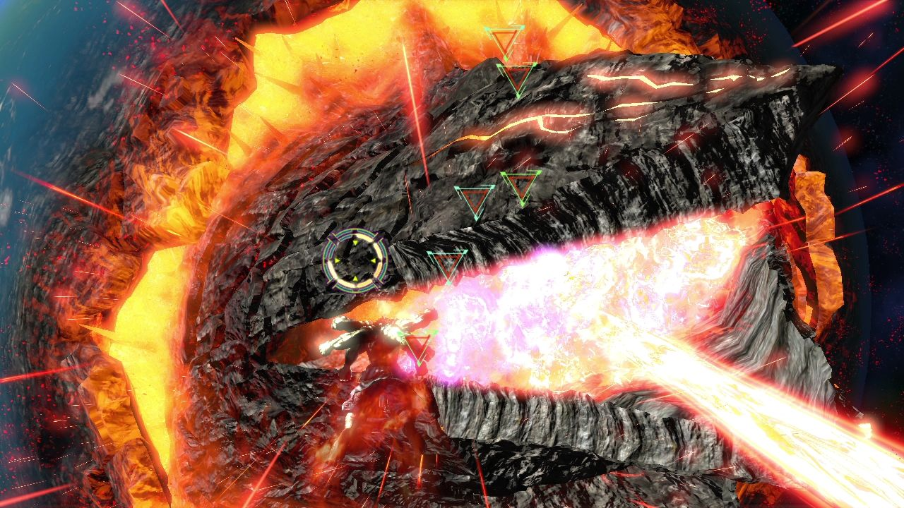Asura's Wrath PlayStation 3 Fighting the Vlitra
