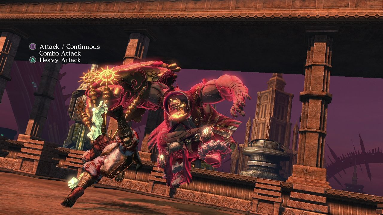 Asura's Wrath PlayStation 3 Learning the basics of basic controls