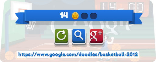 Basketball 2012 Browser My score.