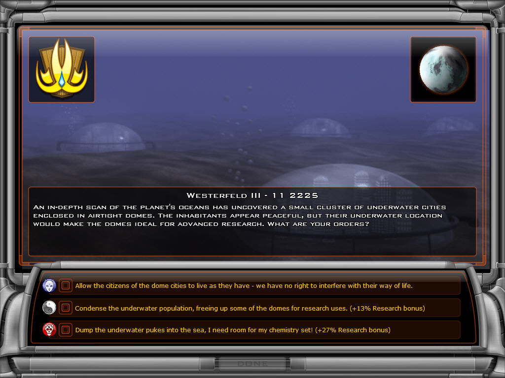Galactic Civilizations II: Dread Lords Windows Random Event