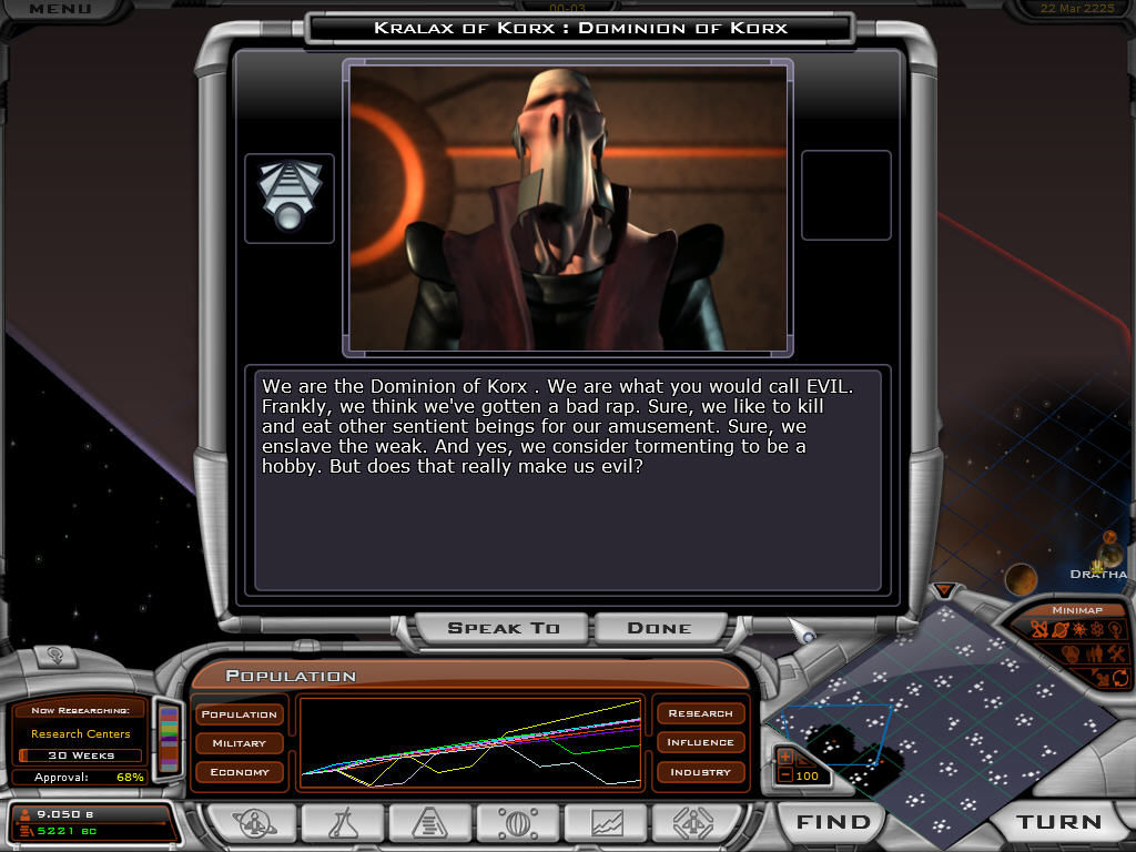 Galactic Civilizations II: Dread Lords Windows Dominion of Korx