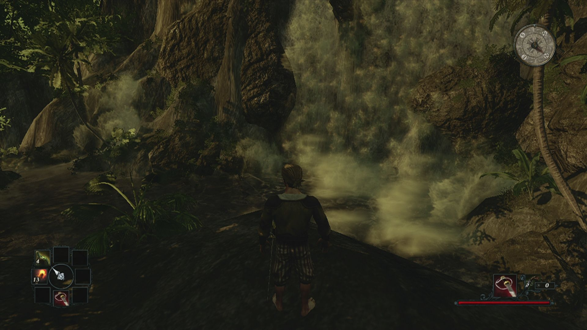 Risen 2: Dark Waters Xbox 360 The game has waterfalls as well