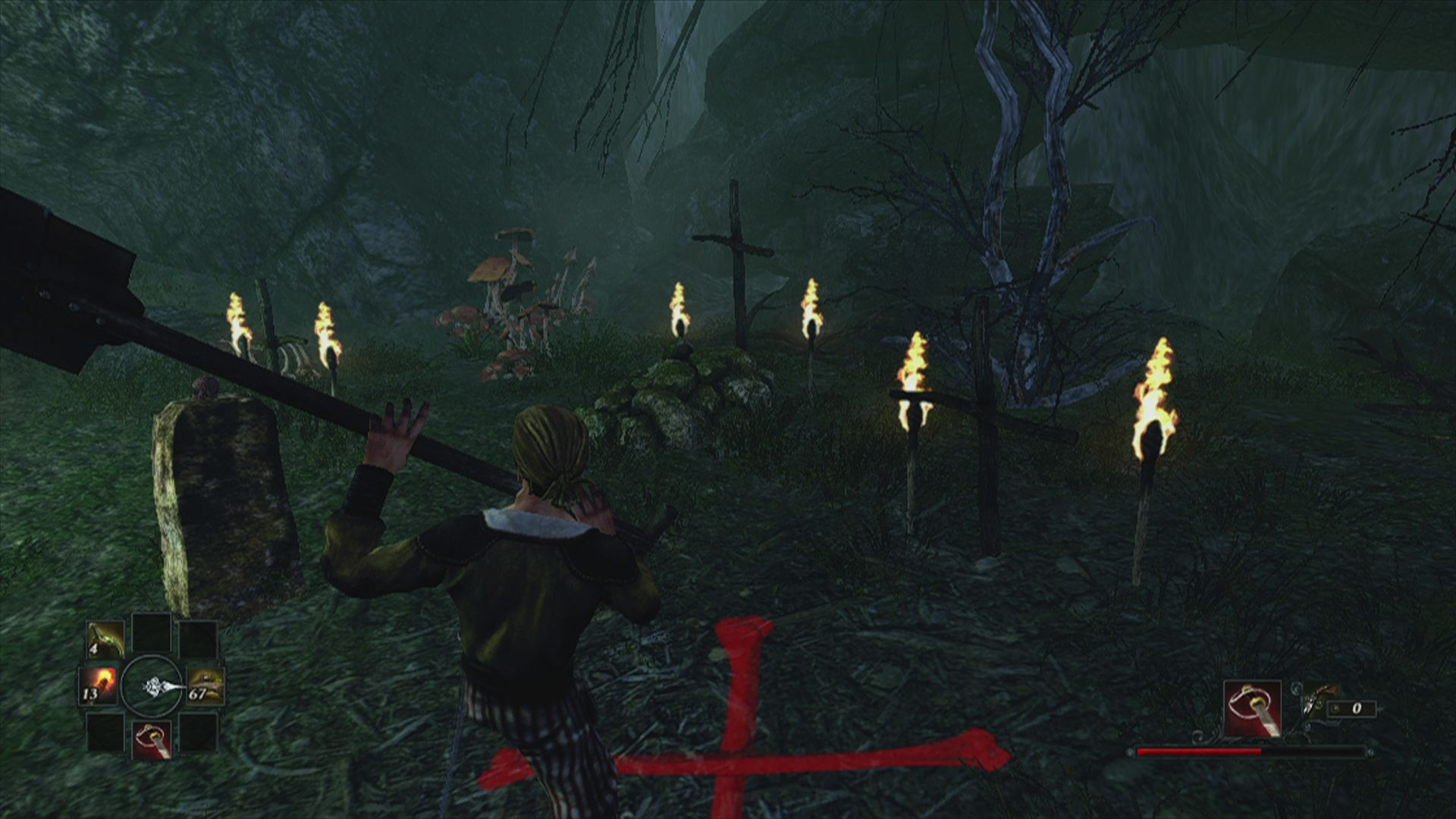 Risen 2: Dark Waters Xbox 360 Thank god I always travel with a full sized shovel