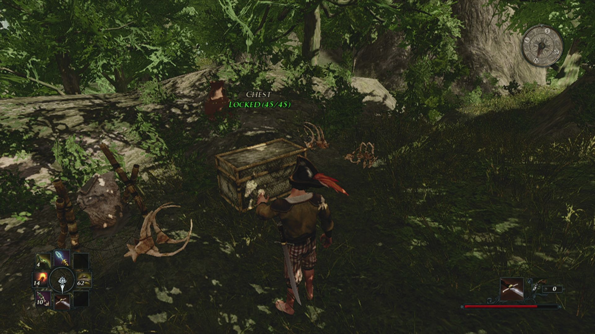 Risen 2: Dark Waters Xbox 360 Treasure chests are sometimes locked and have to be opened ...