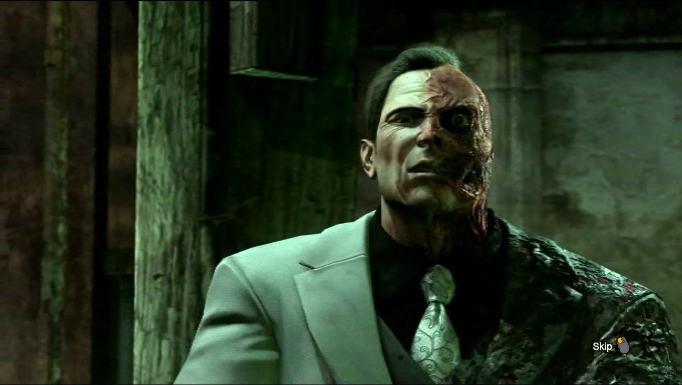 Batman: Arkham City Windows Two-Face