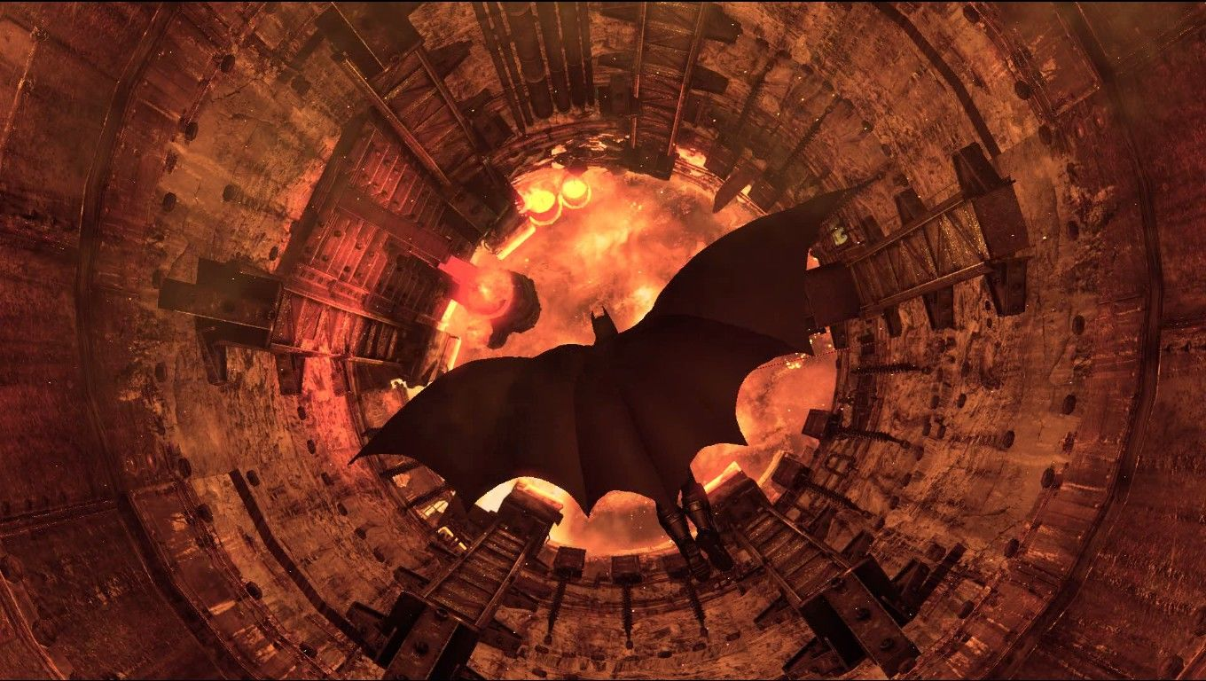 Batman: Arkham City Windows The Dark Knight Descends